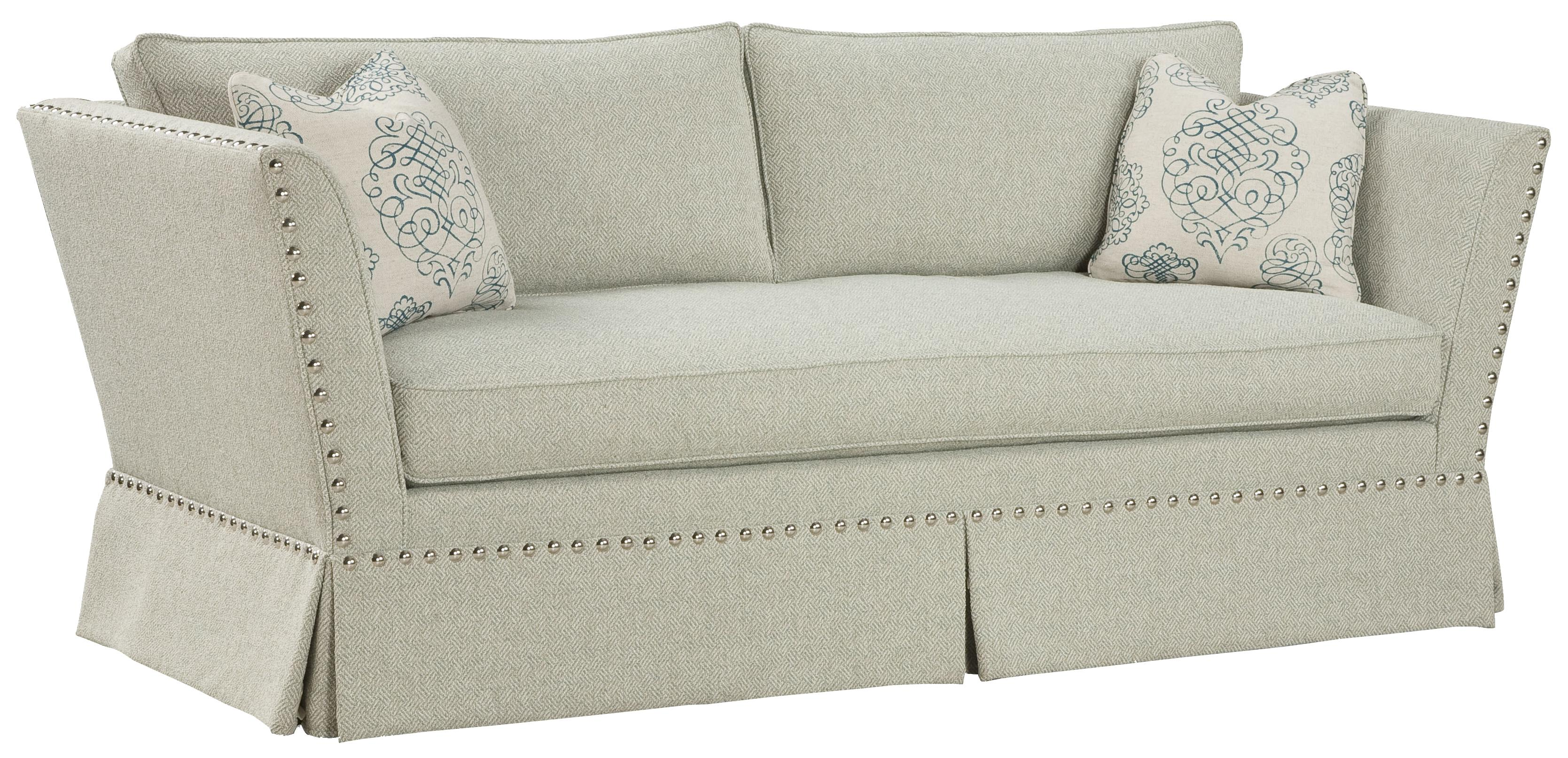 accent sofa scs girl fairfield accents unique in flared arm