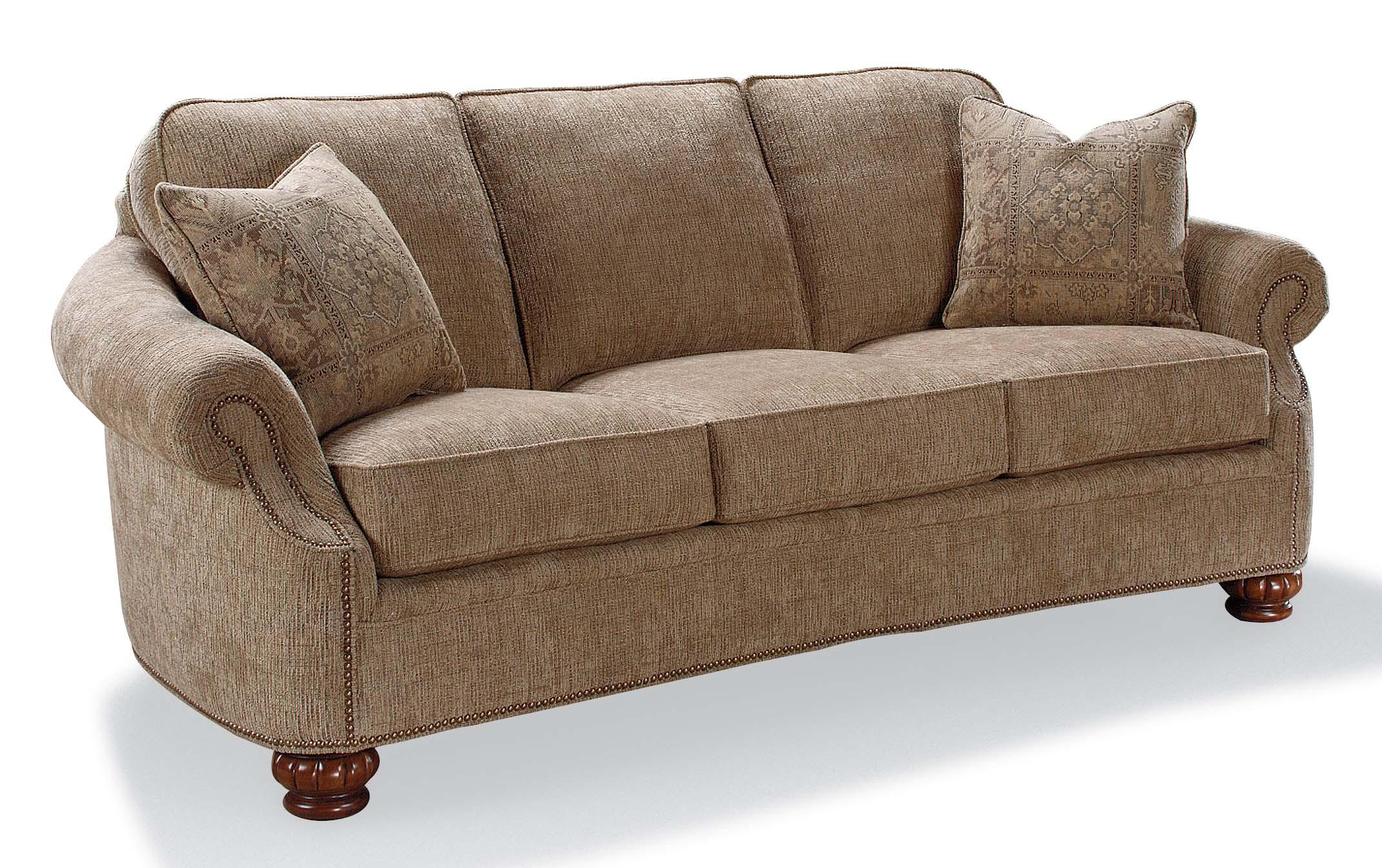 rolled arm sofa with nailhead trim new sets fairfield accents accent