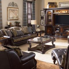 Fairmont Sofa Table Euro Singapore Review Designs Grand Estates Console W Glass