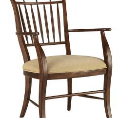 Spindle Arm Chair Hardwood Floor Leg Protectors Fine Furniture Design Biltmore 1346 825 Dining