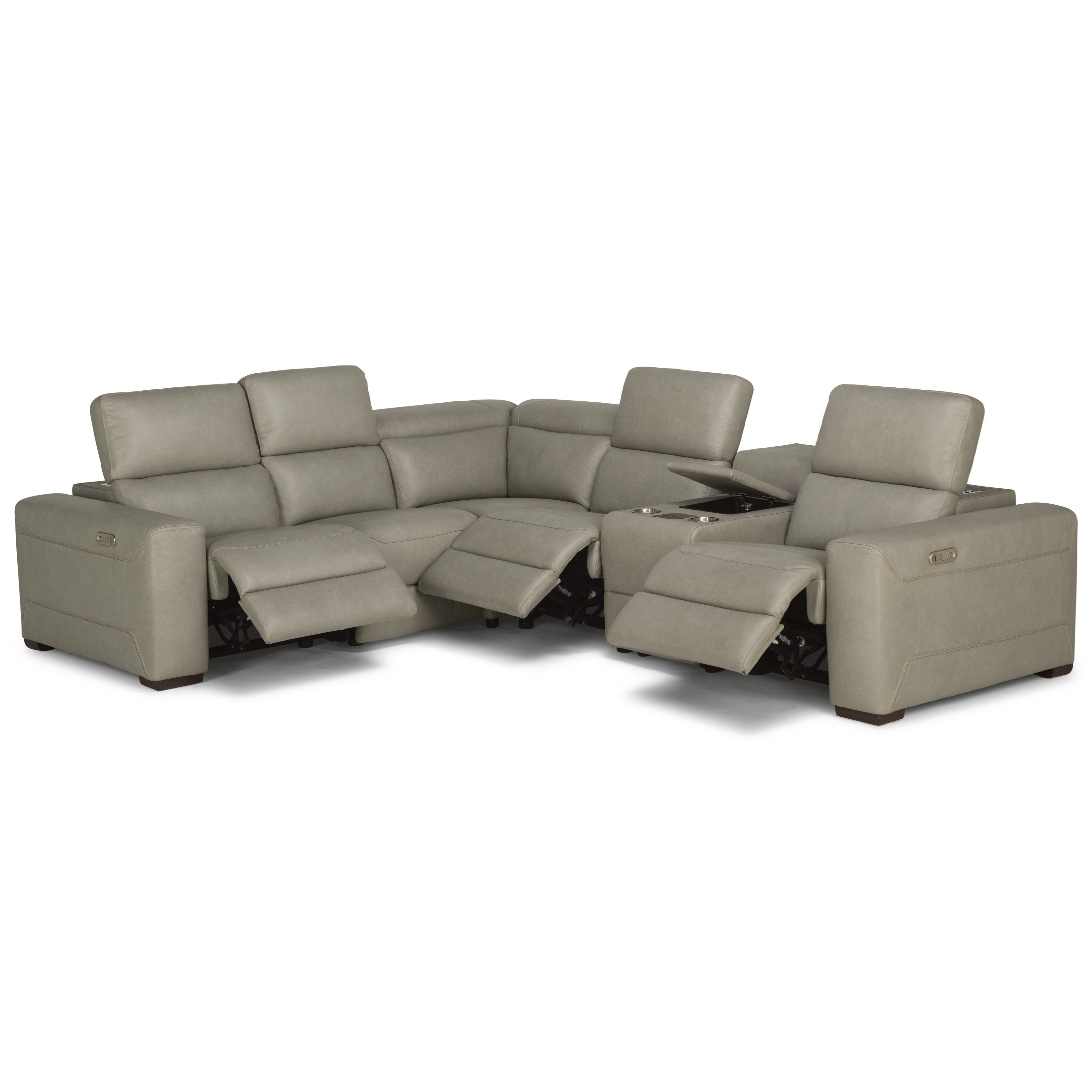 flexsteel capitol double reclining sofa movie theater sectional sofas lexon contemporary with