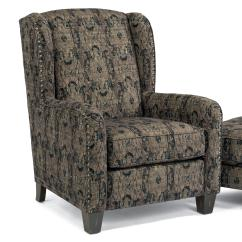 Best Chairs Geneva Glider Director Chair Cover Pattern Flexsteel Accents Perth Wing With Nailhead Border