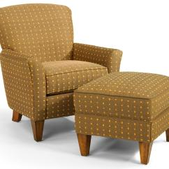 Accent Chairs With Ottoman Roman Chair Back Extension Flexsteel Accents Dancer And Set Wayside