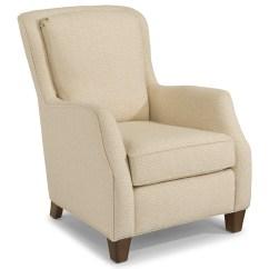 Best Chairs Geneva Glider Baseball Glove Chair Home Goods Flexsteel Accents Allison Wayside Furniture