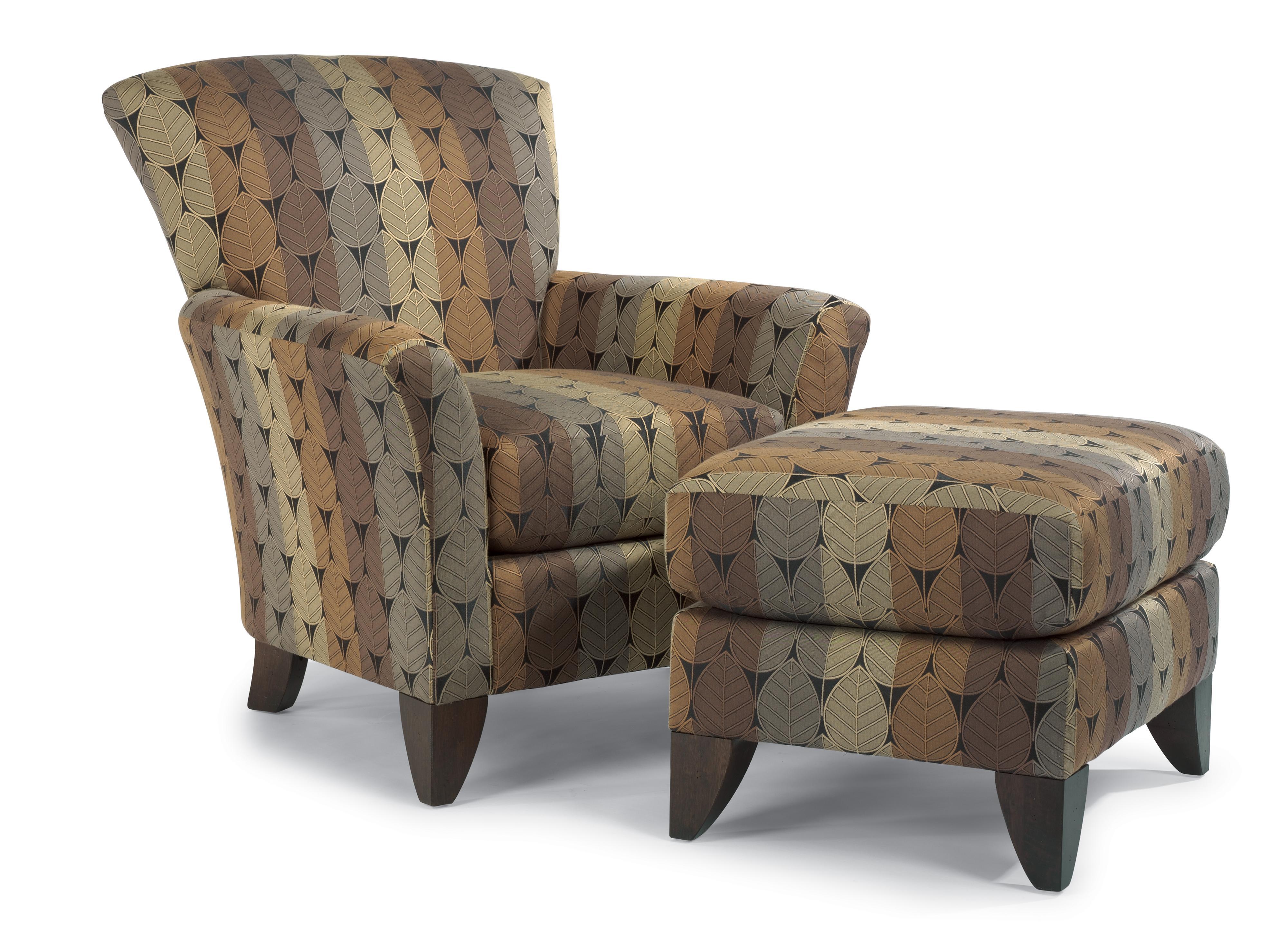chairs and ottomans upholstered wooden church uk flexsteel accents jupiter ottoman belfort