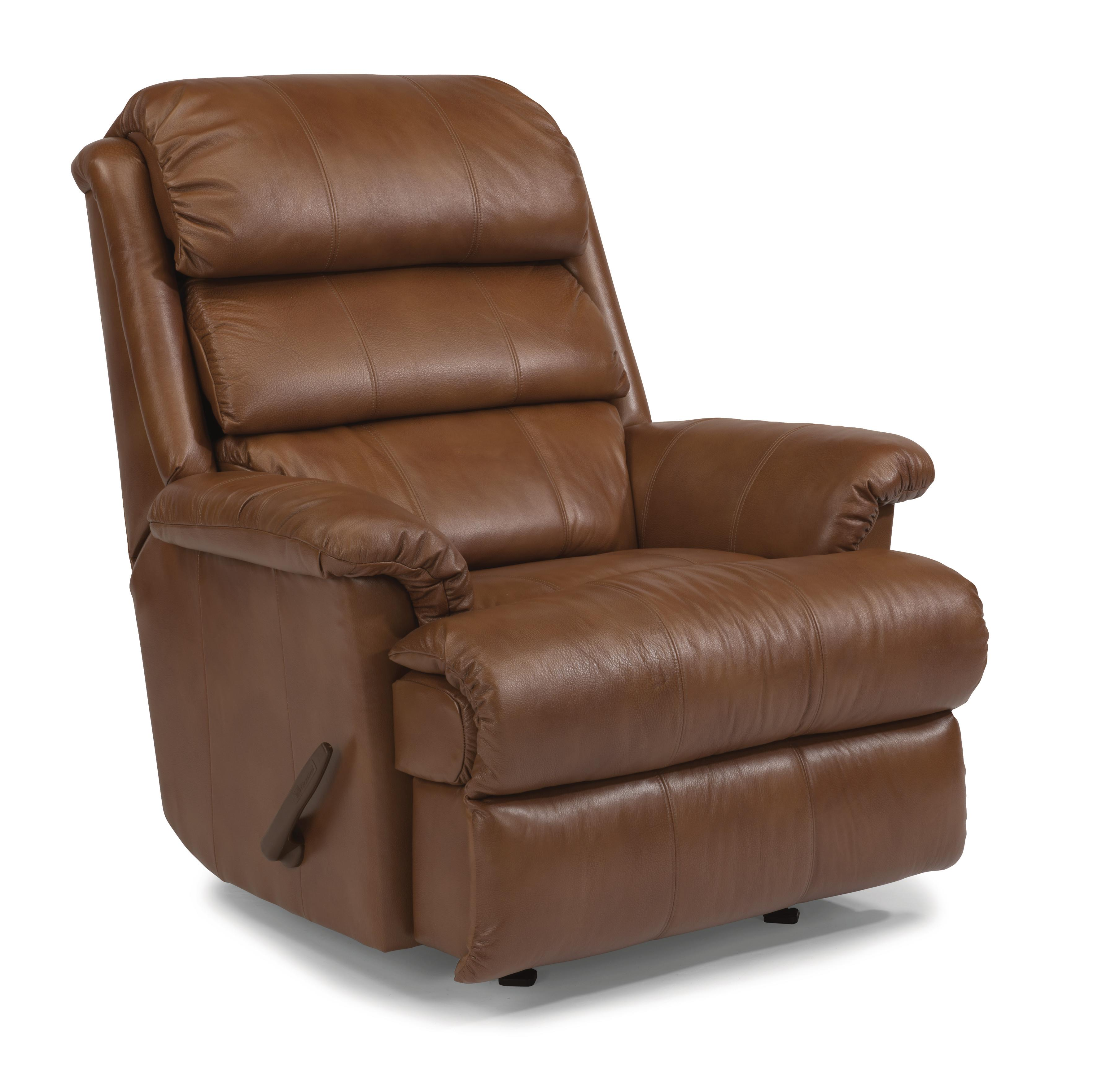 glider recliner chair executive leather office chairs melbourne flexsteel accents 2209 530 yukon swivel