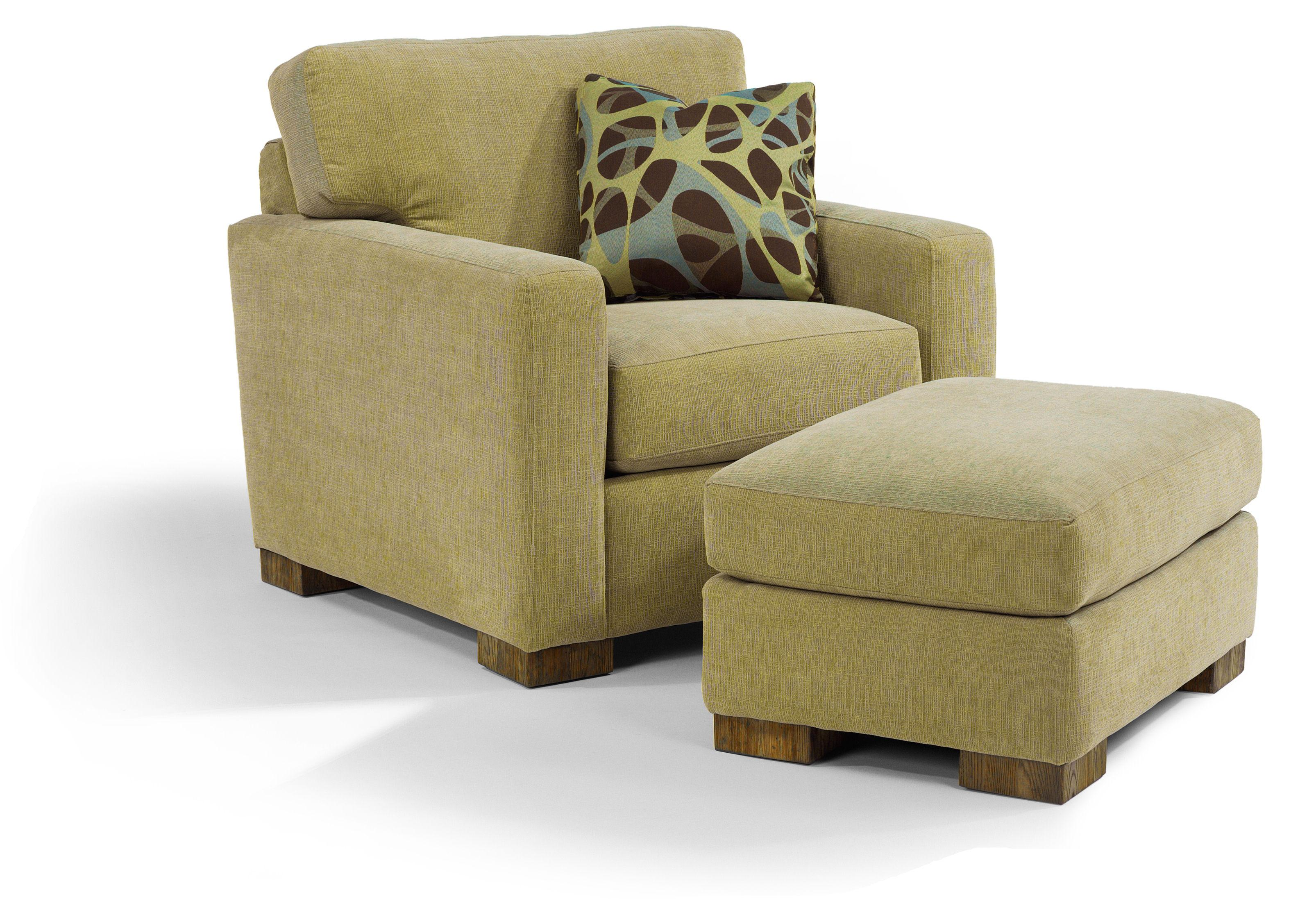 flexsteel chair prices anime bean bag bryant contemporary and ottoman with