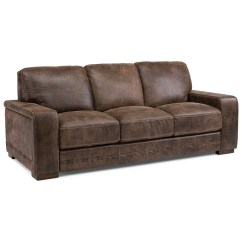 Sofa Mart Leather Chairs Armless Corner Uk Flexsteel Latitudes Buxton 1117 31 Contemporary