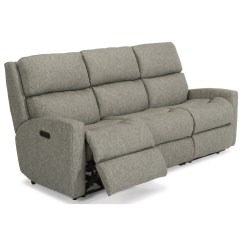Modern Power Reclining Sofa Living Room Ideas With Grey Flexsteel Catalina 2900 62h Contemporary Casual