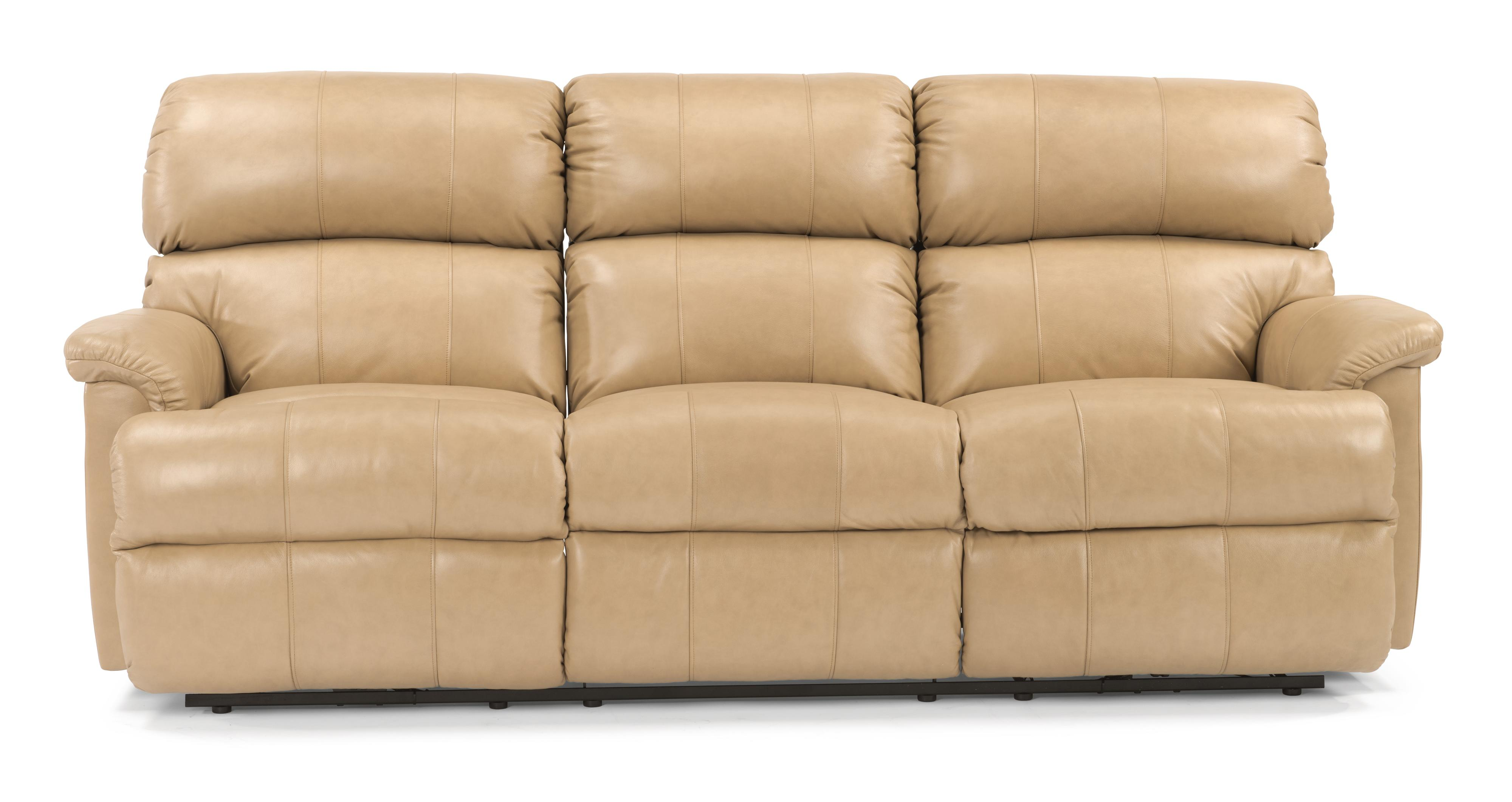 flexsteel capitol double reclining sofa full size flip chicago 3066 62 87 quot