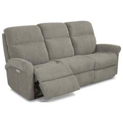 Flexsteel Reclining Sofa Warranty Tuscany 3 Seater Davis Casual Power With Usb