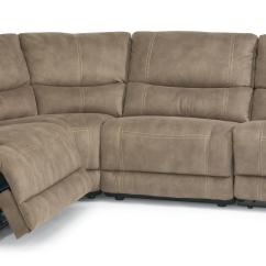 Flexsteel Sectional Sofas Cama Abatible Con Sofa Precio Latitudes Delia Power Reclining
