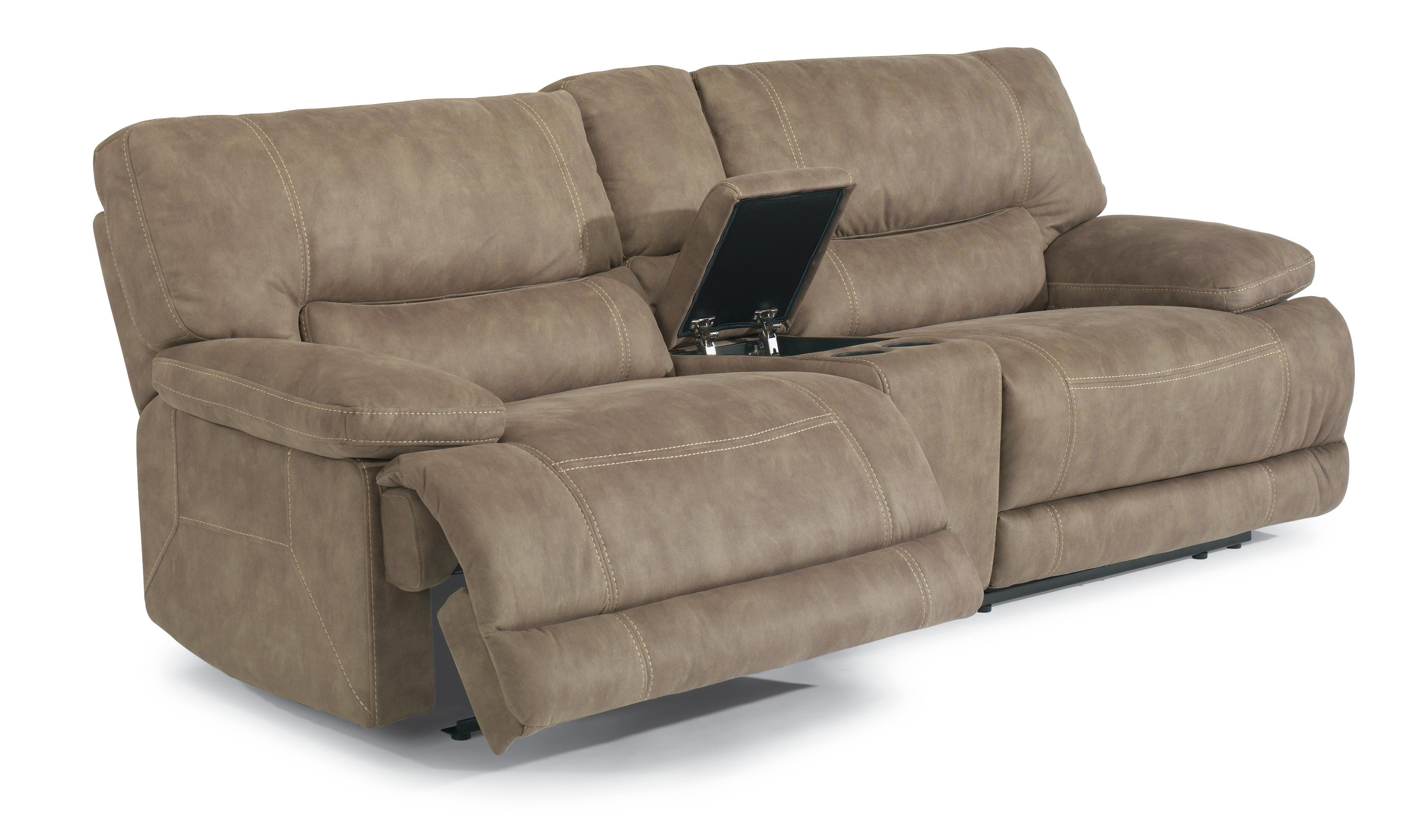 leather possibilities track arm sofa poeten finn juhl kaufen flexsteel latitudes delia power reclining sectional