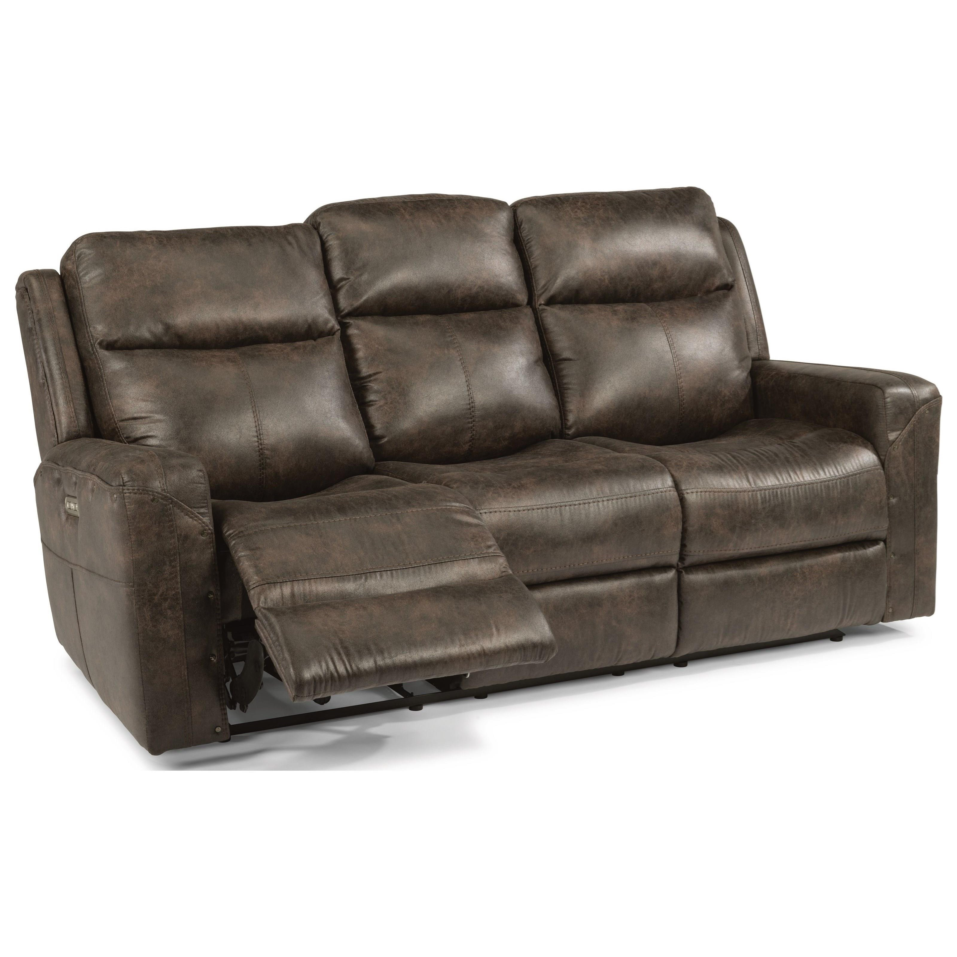 flexsteel bexley sofa queen champion transitional on tufted