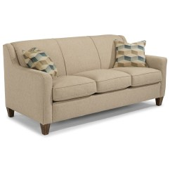 Kaleigh Fabric Queen Sleeper Sofa Bed Que Es Sofasa Medellin Flexsteel Holly Contemporary With Angled Track Arms