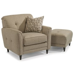 Jacqueline Sofa Cheap Corner Recliner Sofas Flexsteel Relaxed Vintage Chair And Ottoman Set