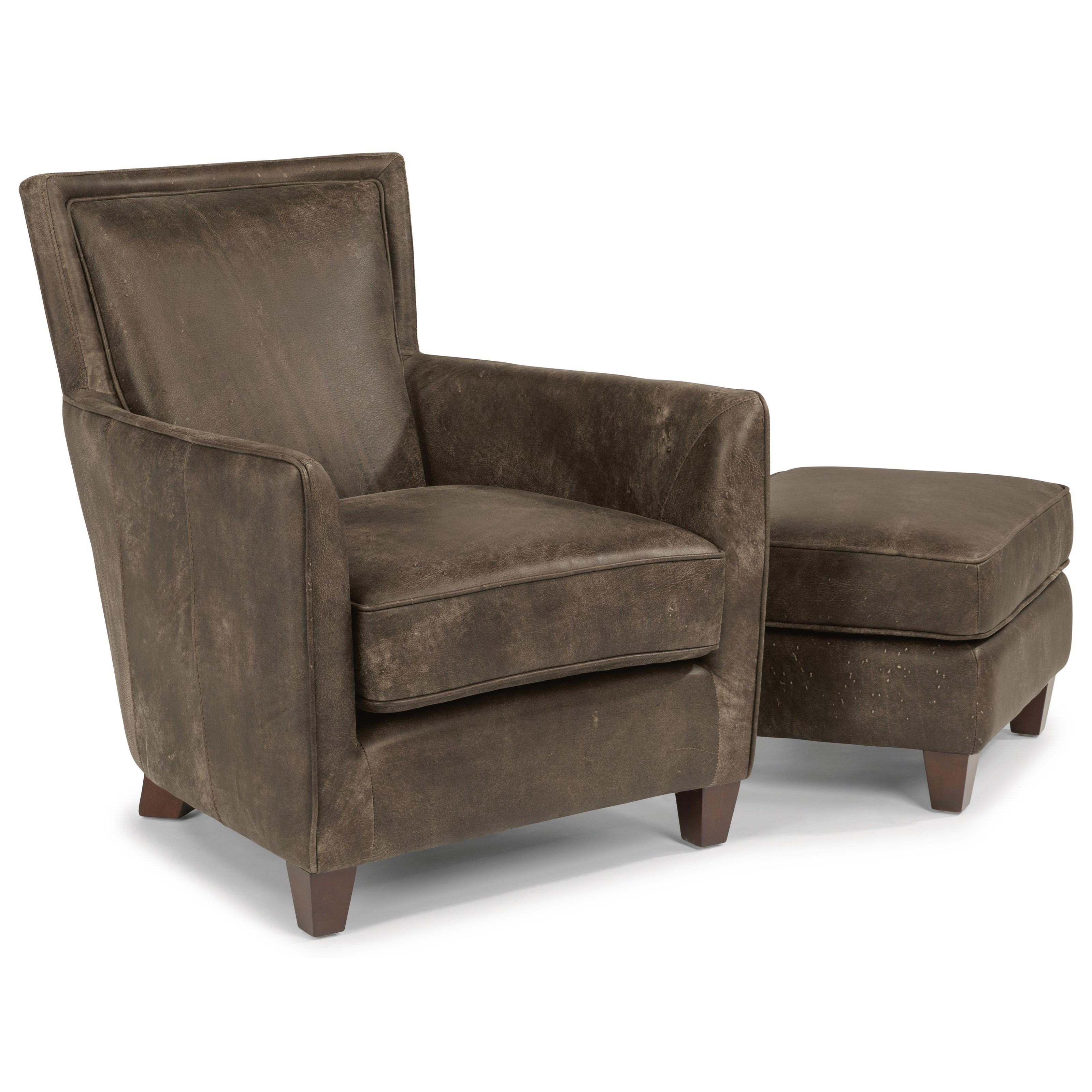 flexsteel sofa sets living room decorating ideas burgundy latitudes kingston contemporary leather chair