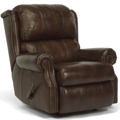 Zone Swivel Chair Folding Leather And Wood Rocking Flexsteel Latitudes Comfort 1227 500p Recliner W
