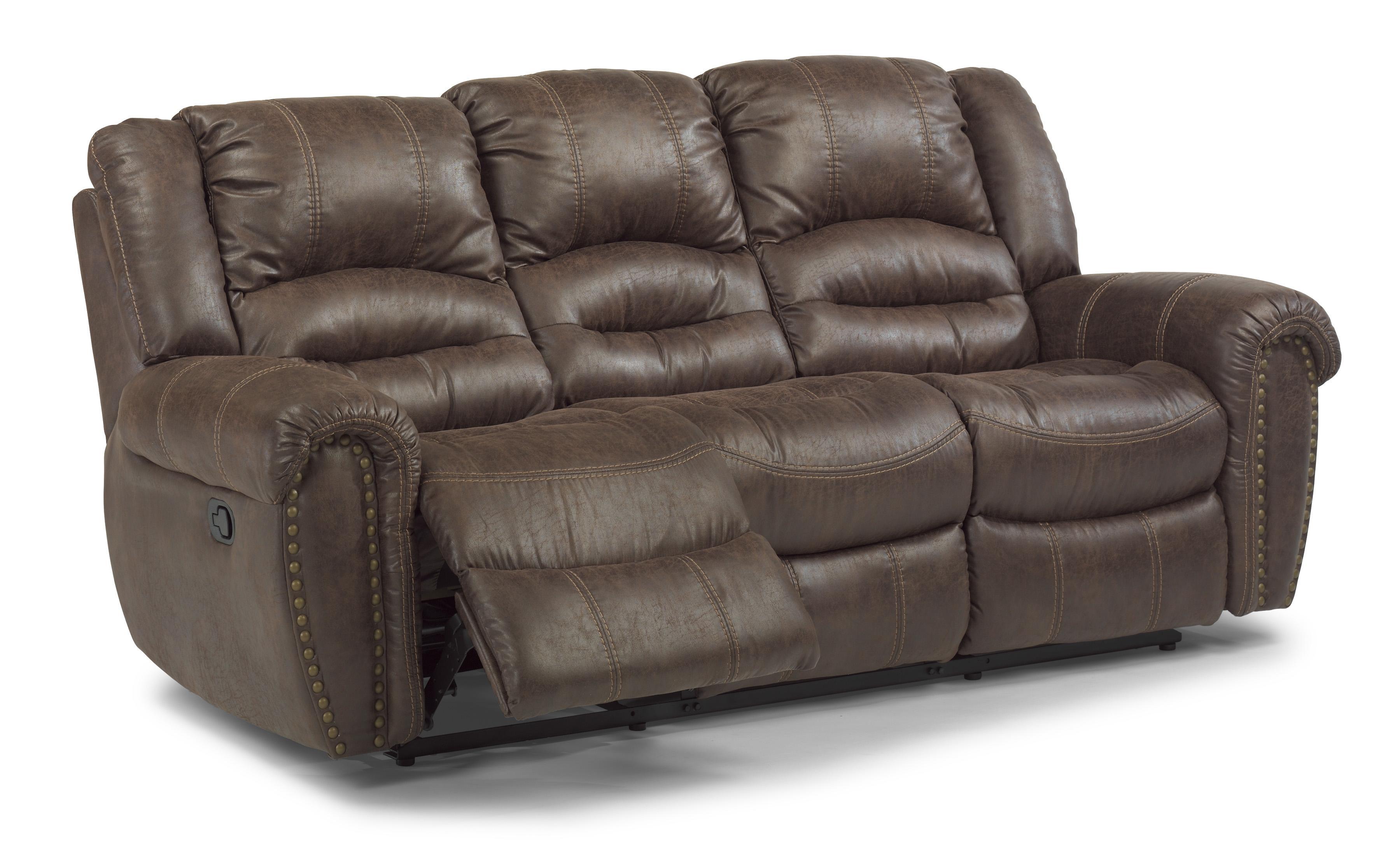 flexsteel capitol double reclining sofa covering dublin latitudes downtown 1710 62p transitional power