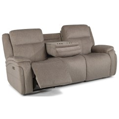 Crescent Power Sofa Recliner With Headrest Velvet For Sale In Ireland Flexsteel Latitudes Rocket Contemporary Reclining