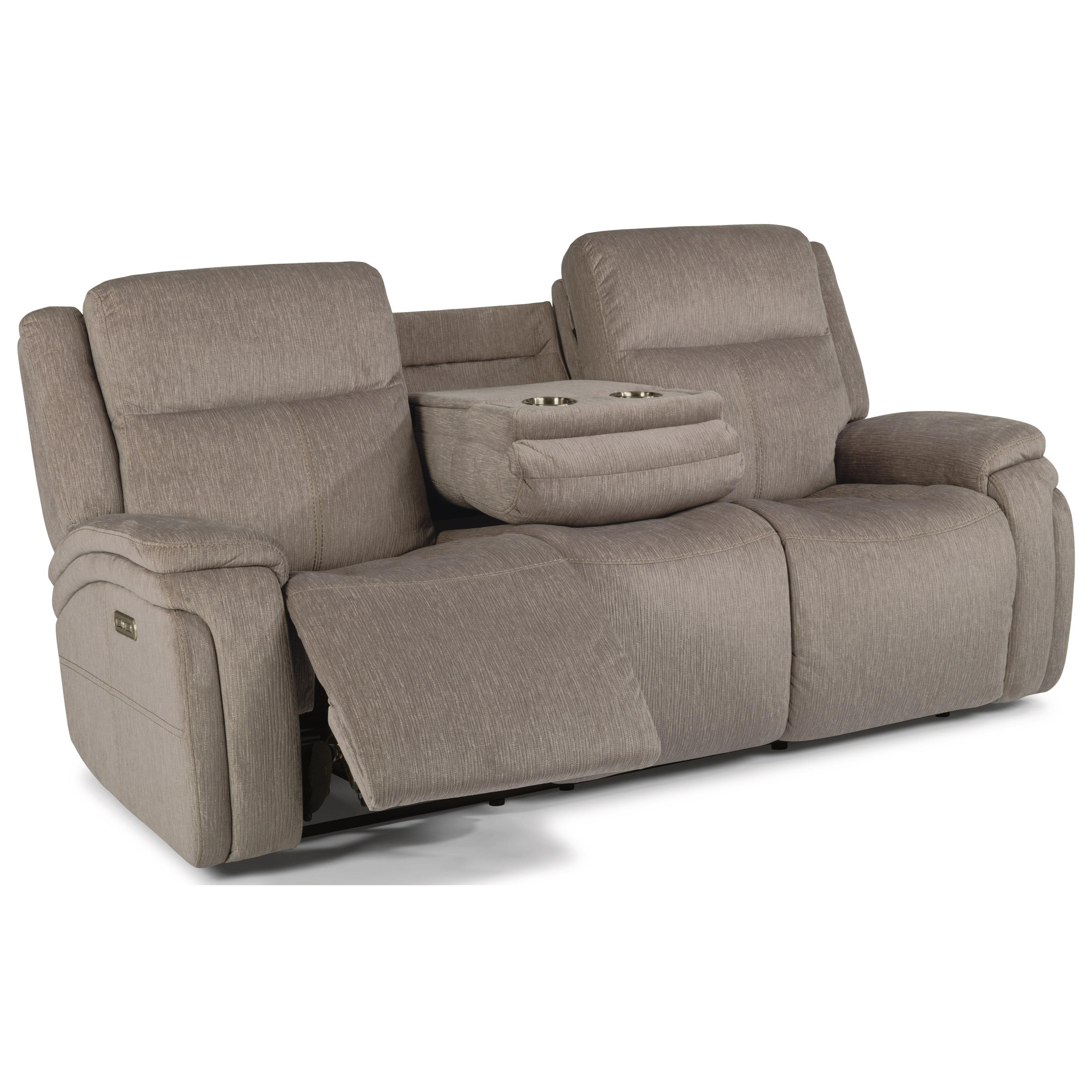 flexsteel reclining sofa warranty wing sleeper latitudes rocket contemporary power