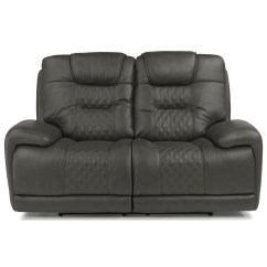 Crescent Power Sofa Recliner With Headrest Fold Away Beds Flexsteel Latitudes Royce 1545 60ph Contemporary