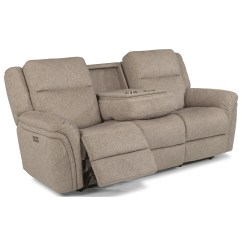 Crescent Power Sofa Recliner With Headrest Macy Malaysia Bed Flexsteel Latitudes Silas Casual Reclining