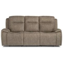 Flexsteel Reclining Sofa Warranty Turquoise Sectional Sofas Latitudes Solo Contemporary Power
