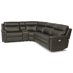 Flexsteel Reclining Sofa Warranty And Bed Set Latitudes Trevor Rustic 5 Piece Power