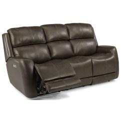 Sofa Without Back Support Bassett Alex Reviews Flexsteel Latitudes Zelda Casual Power Reclining