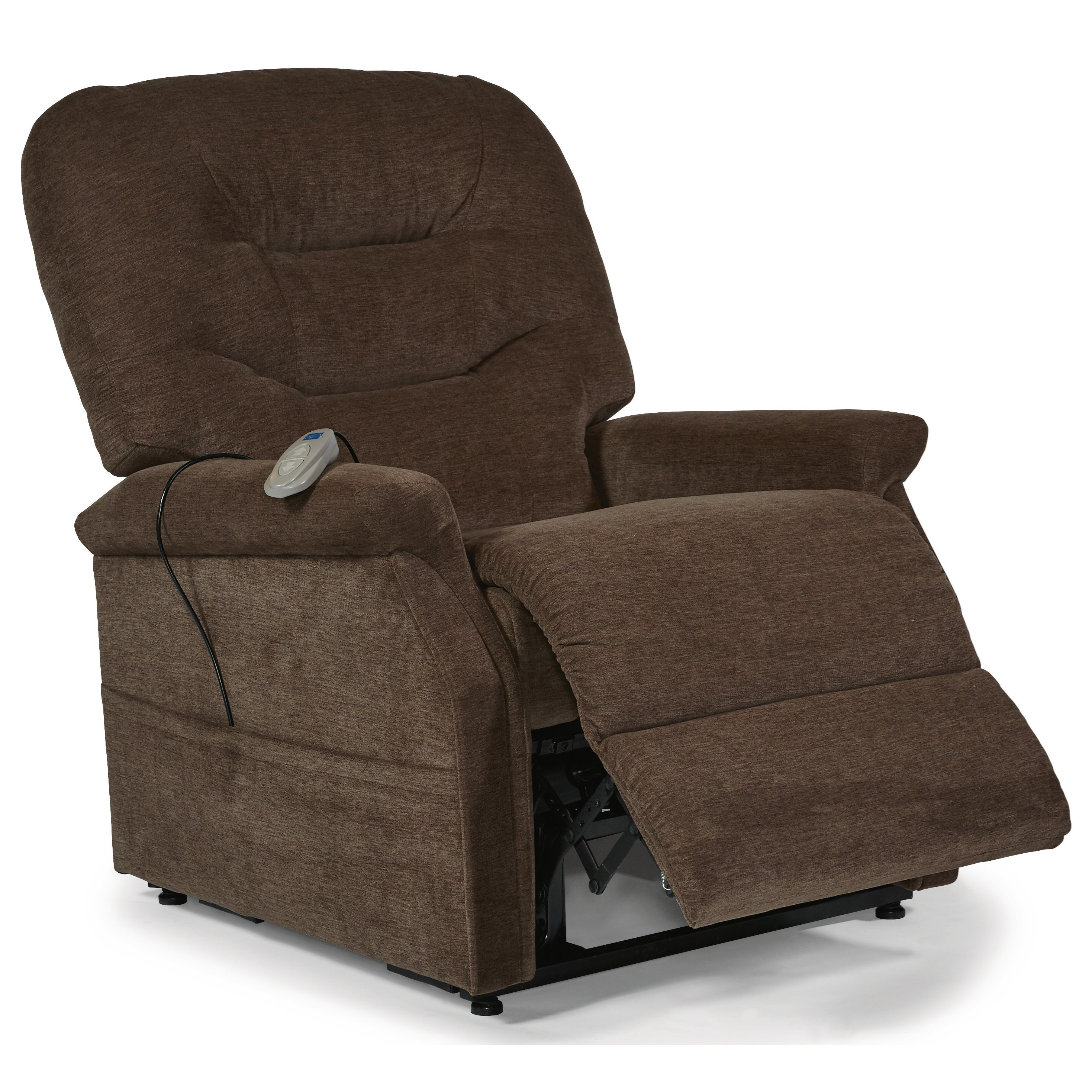 how to lift a chair with one hand stressless uk flexsteel latitudes chairs hudson three way power