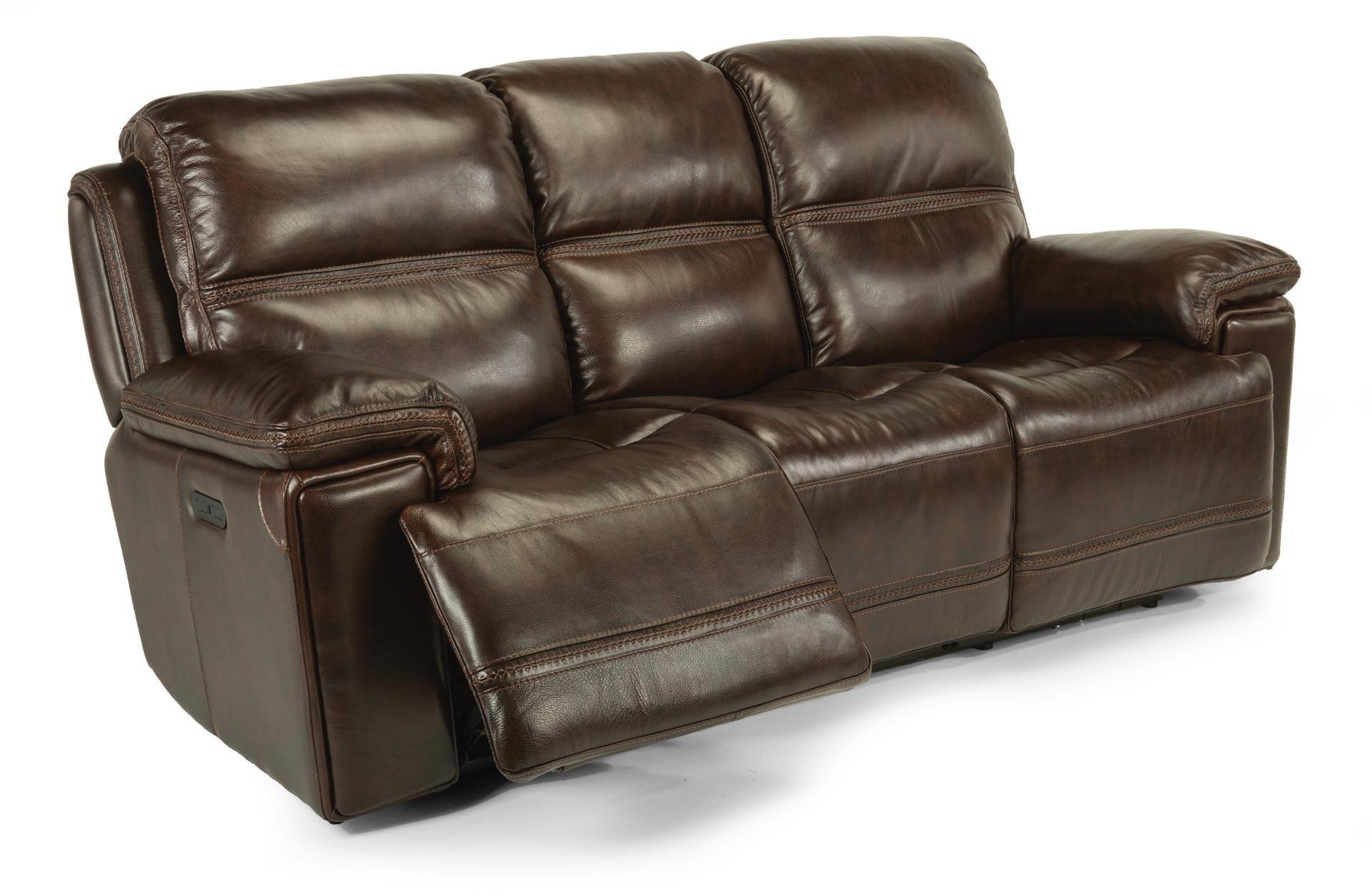 flexsteel julio reclining sofa sectional sofas microfiber power reviews menzilperde net