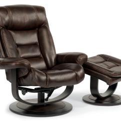 Recliner Vs Chair With Ottoman Drop Leaf Kitchen Table Chairs Flexsteel Latitudes Hunter 1454 Co Modern Zero Gravity