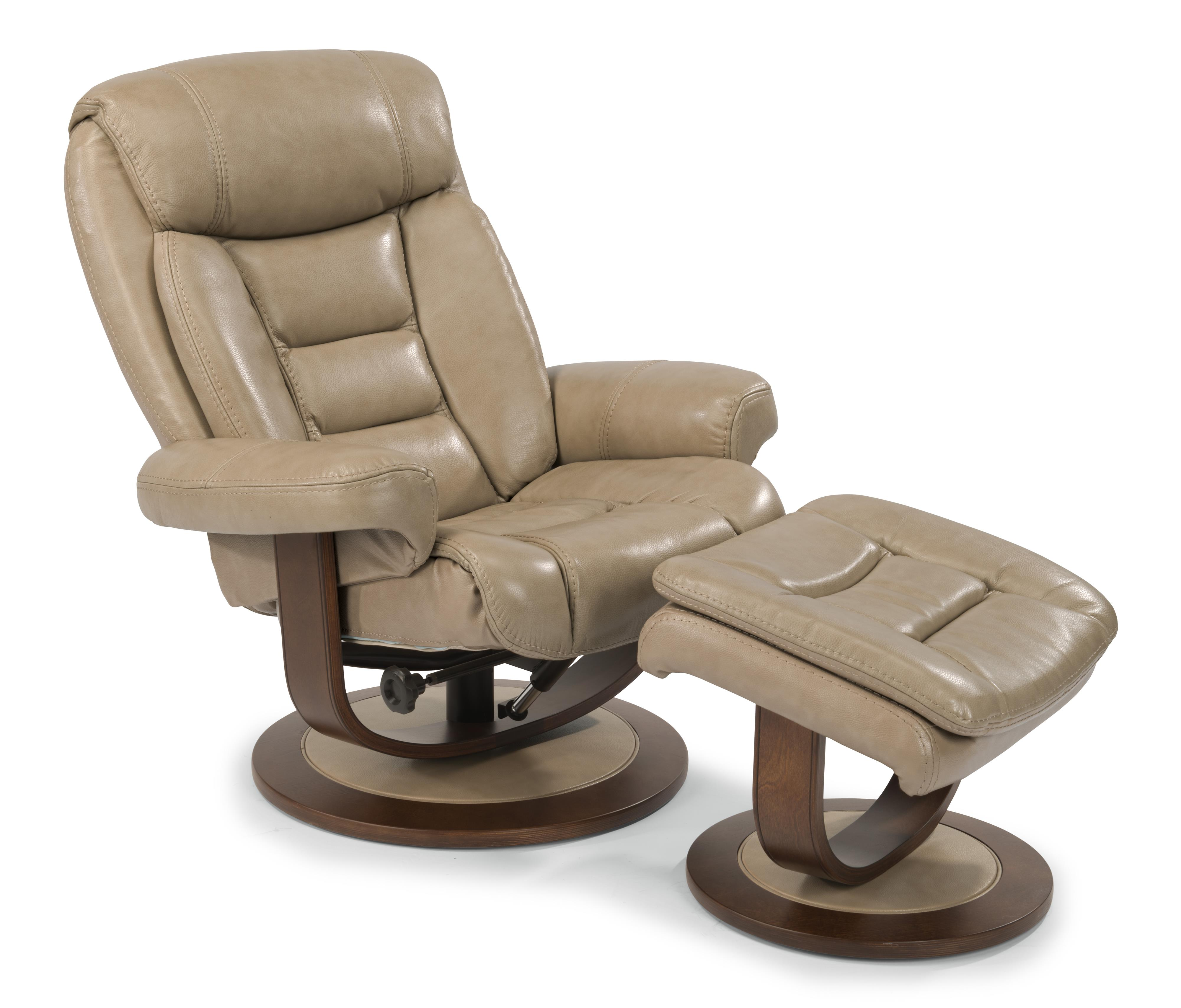 Reclining Chair And Ottoman Flexsteel Latitudes Hunter 1455 Co Reclining Chair And