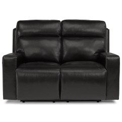 Crescent Power Sofa Recliner With Headrest Modern Style Flexsteel Latitudes Niko 1181 60ph Contemporary