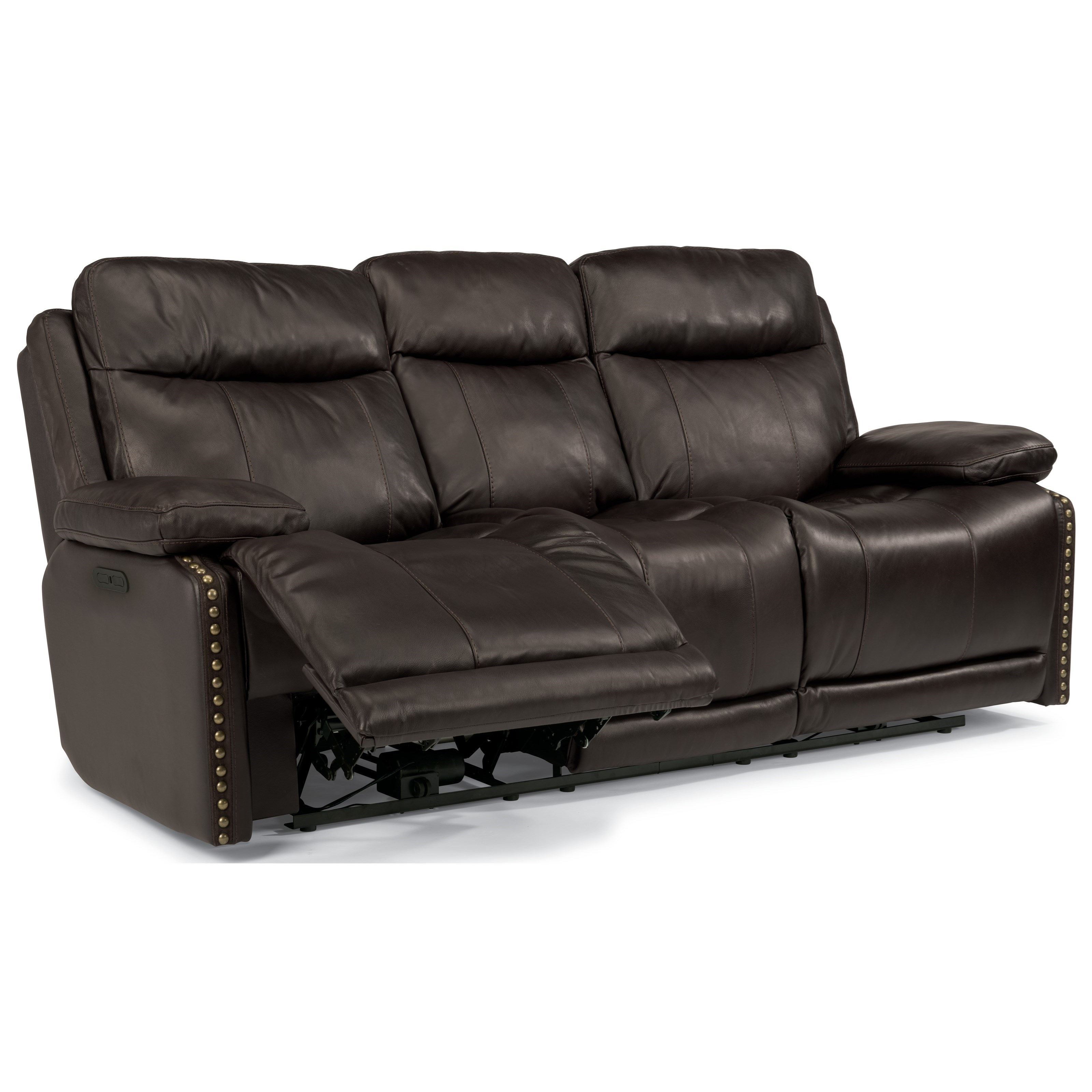 flexsteel reclining sofa warranty england covers latitudes russell power with