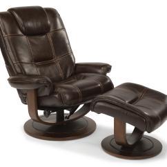 Reclining Chair And Ottoman Kid Adirondack Plastic Flexsteel Latitudes Spencer 1457 Co Modern Zero