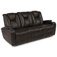 Crescent Power Sofa Recliner With Headrest Modern Corner Bed Storage Flexsteel Latitudes Trinidad Adjustable