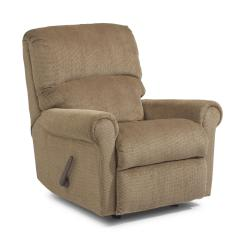 Flexsteel Chair Prices Counter Hight Chairs Markham Rocker Recliner With Rolled Arms