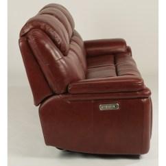 Flexsteel Reclining Sofa Warranty Cleaning Service Dubai Porter Leather Match Power With
