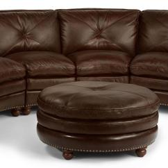 Leather Round Sofas Manufacturers Natalie Sofa Multiyork Flexsteel Sectional 5535 Thornton