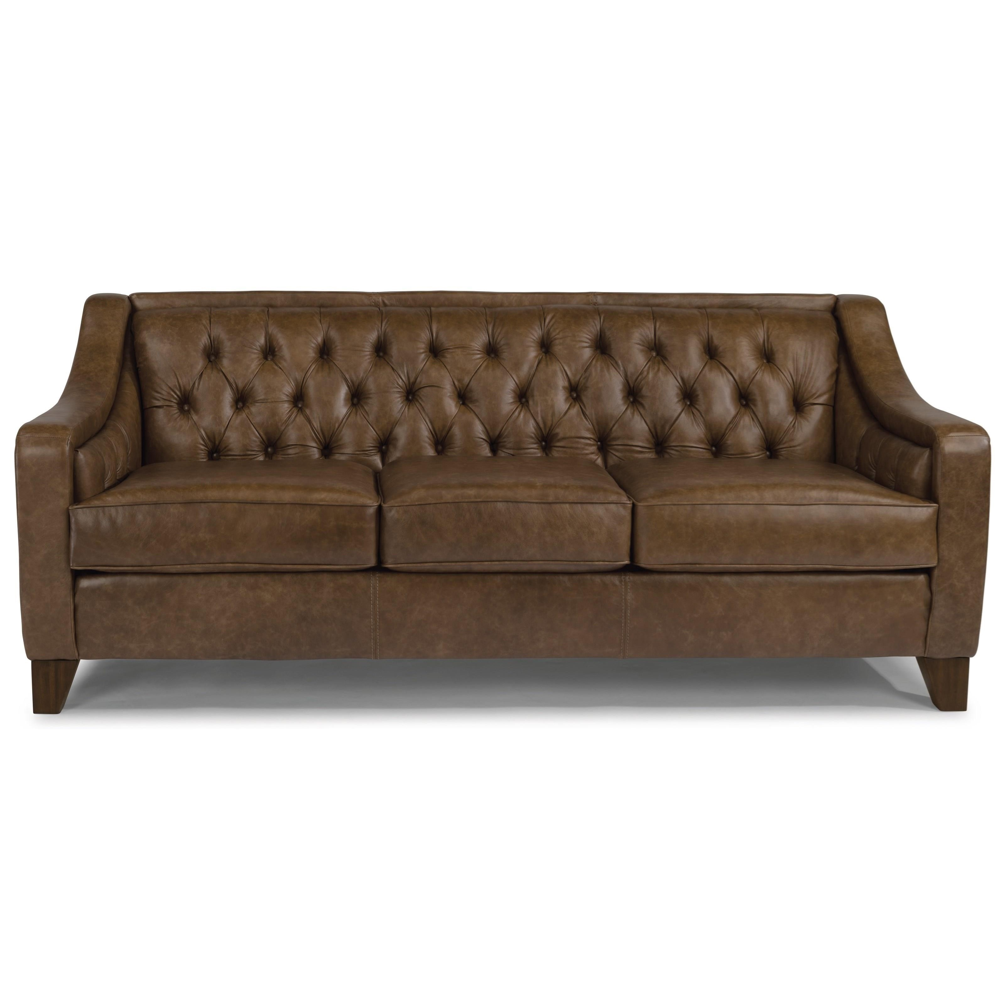 urban home sullivan sofa l shaped sofas cheap flexsteel 3103 31 contemporary with tufted