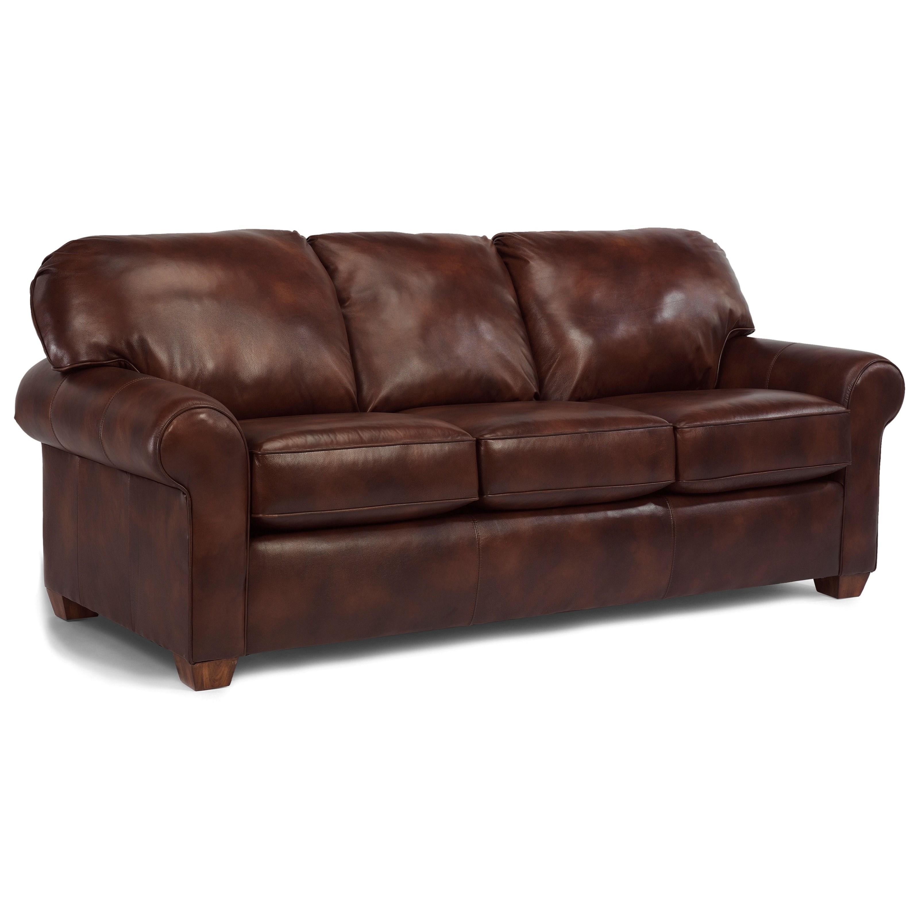 flexsteel sofa sets tribecca home eland black bonded leather set thornton stationary upholstered olinde 39s