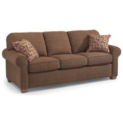 Flexsteel Sectional Sofas How To Clean Linen Cotton Sofa Thornton Stationary Upholstered Olinde 39s