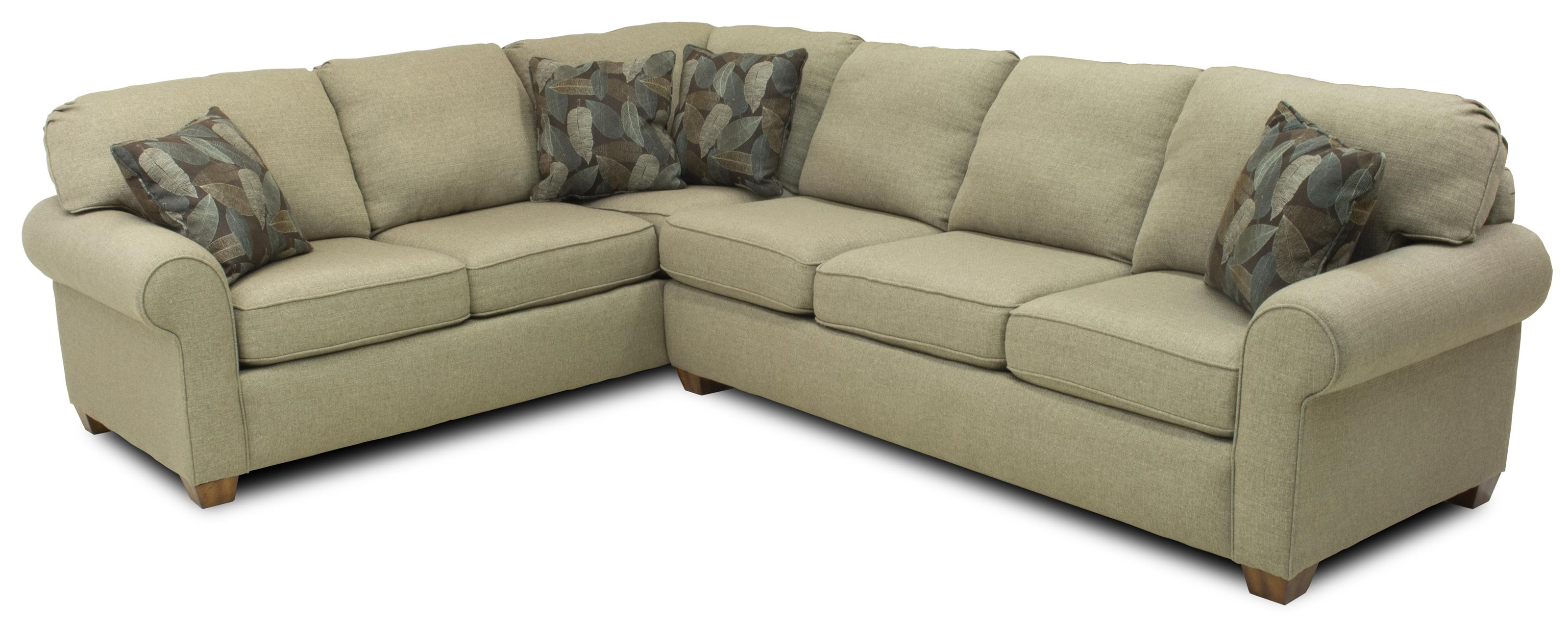 flexsteel thornton sectional sofa outdoor sofas auckland 2 piece ruby gordon home