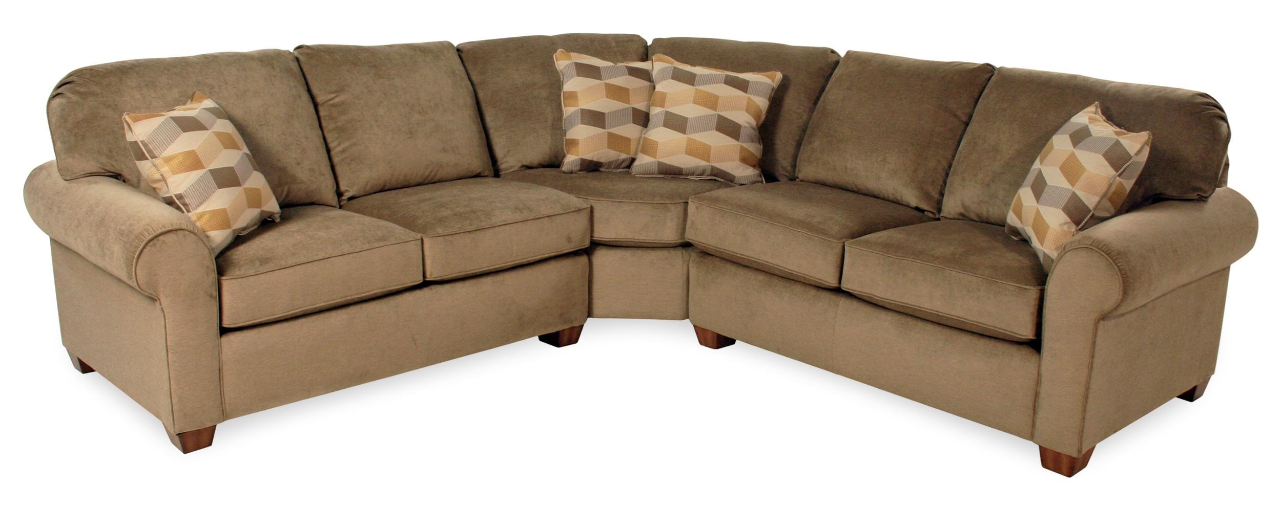 flexsteel sectional sofas beverly 2pc sofa thornton furniture vail 7305
