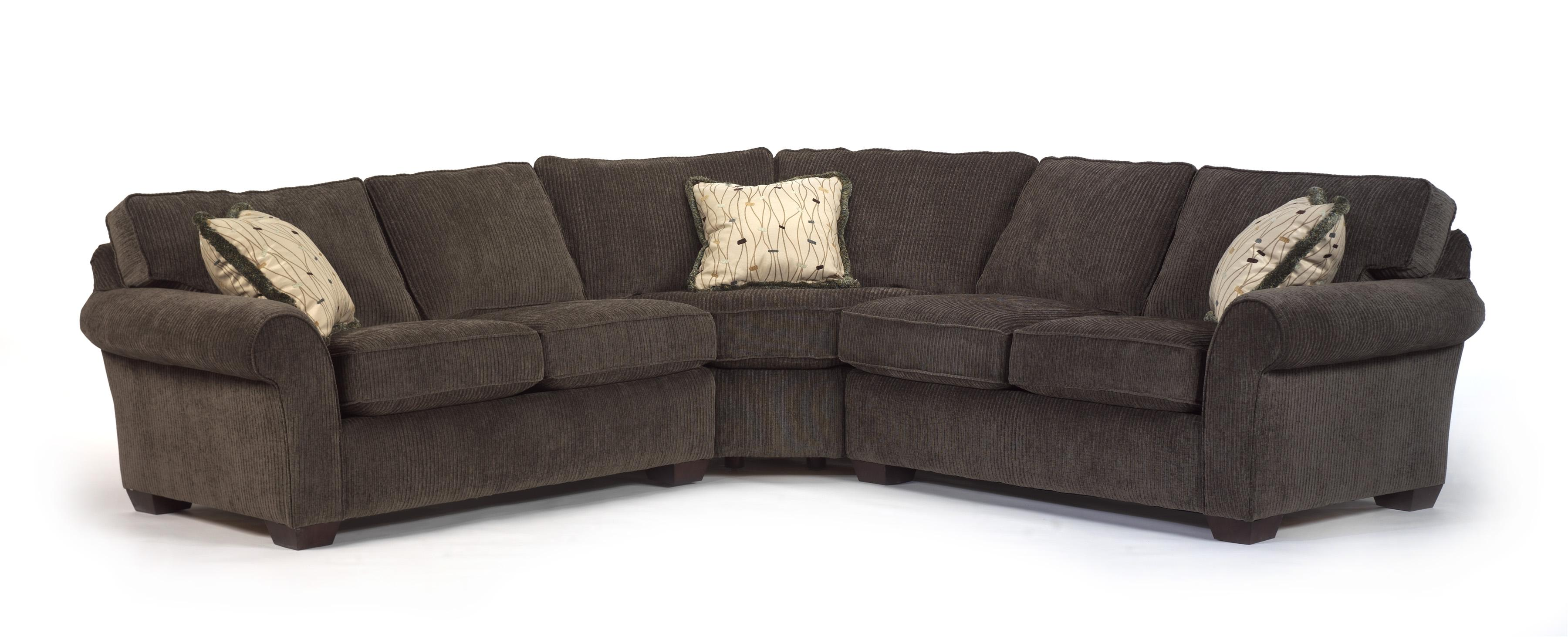 flexsteel sectional sofas reupholstering vail corner sofa olinde 39s furniture