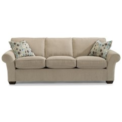 Flexsteel Leather Sofa Price Can I Recover A With Fabric Vail 7305 31 91 Quot Three Cushion Dunk