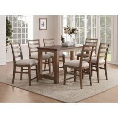 Counter Height Table And Chair Sets Restoration Hardware Dining Room Chairs Flexsteel Wynwood Collection Carmen Contemporary