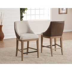 Upholstered Counter Chairs Best Chair Booster Seat For Toddlers Flexsteel Wynwood Collection Carmen Transitional